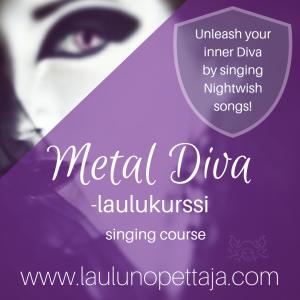 nightwish laulukurssi, laulukurssi, laulunopetus, maarit aura